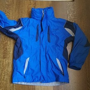 Columbia 3 in 1 jacket, youth 14/16
